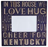 NCAA Kentucky Wildcats ''In This House'' 4 in. x 6 in. Wood Photo Frame