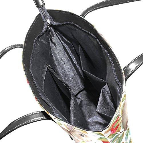 Modello Medio Muticolour Cuoio Tracolla Coosun E Acquerello Le Bag Autunno Della Borsa Coniglio Borse Donne A Per Tote nqUaxwHIUT