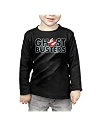 Ggg Kids Little Boys / Girls Ghost Busters Logo Long Sleeve Tshirt For Toddler