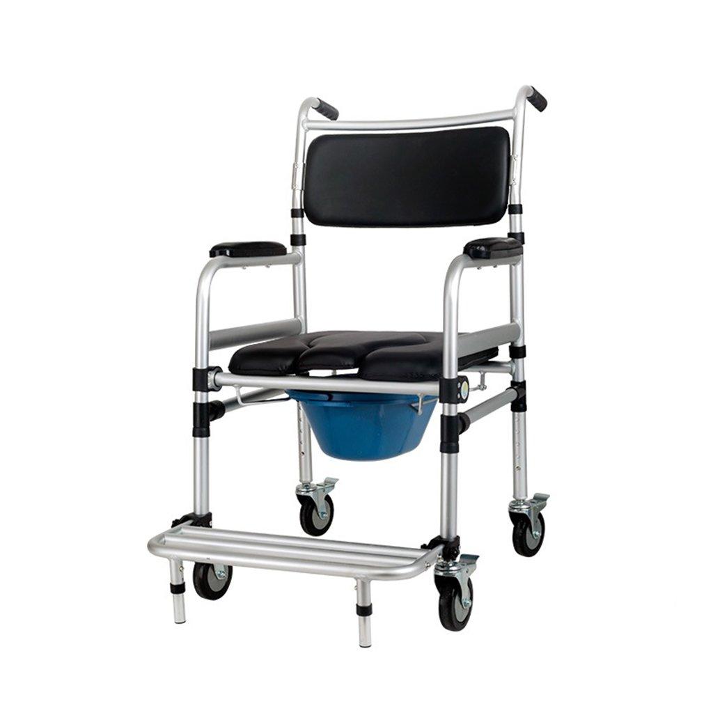 便座の椅子折り畳み式のプーリー安全な便座の椅子のバスチェア B07CK18JSR
