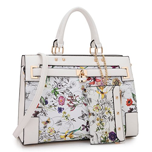 Dasein Two Tone Fashion Handbag ...
