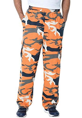 Camo Large Mens Pants - 5