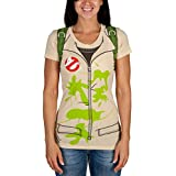 Ghostbusters Costume Junior Women's T-Shirt (Large)
