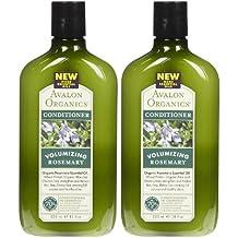 Avalon Organics Volumizing Conditioner - Rosemary - 11 oz - 2 pk