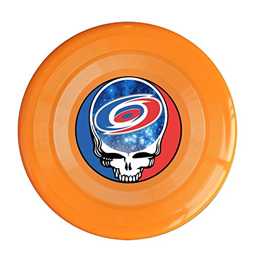 SYYFB Unisex Skull Carolina Football Outdoor Game Frisbee Sport Orange
