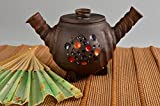 Handmade Ceramic Teapot Small Teapot Pottery Art Ceramic Cookware Kitchen Decor