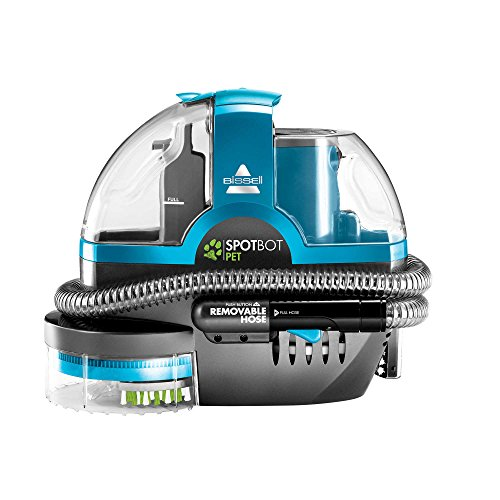 Spotbot Pet Carpet - Bissell SpotBot Pet Deluxe Portable Carpet Cleaner in Disco Teal