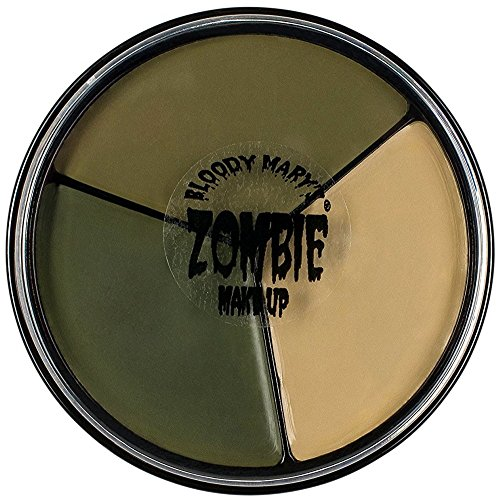 Bloody Mary Tri Color Zombie Foundation Wheel for Costume -