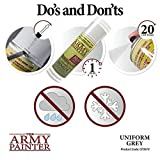 The Army Painter Color Primer, Uniform Grey, 400