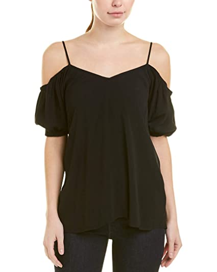 0f976b383cf06 1.State Womens Cold Shoulder Puff Sleeve at Amazon Women s Clothing store