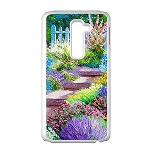 Beautiful Garden scenery Phone Case for LG G2
