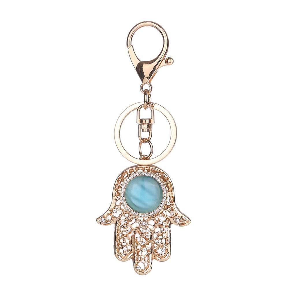 yanyaoo Porte-clés Paume de Bouddha