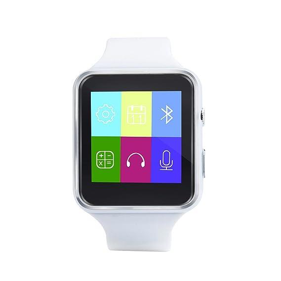 JiaMeng Reloj Inteligente, X6 BT3.0 gsm SIM Phone Mate para el teléfono Inteligente