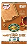 Nature's Path Organic Toaster Pastries, Frosted Mmmaple Brown Sugar, 6 Count Box (Pack of 12)