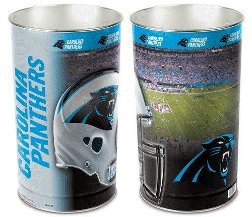 Carolina Panthers 15 Waste Basket