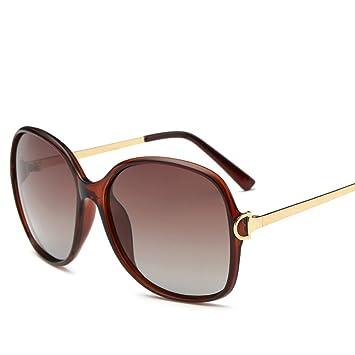 CJ Gafas de sol polarizadas Sra. Nuevas gafas de sol lentes de marco espejo gafas