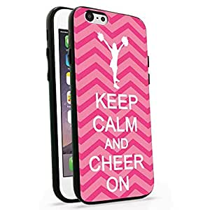 Keep Calm And Cheer On Pink Chevron Iphone 6 Case, Iphone 6 Cover