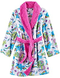 My Little Pony Movie Bathrobe for Toddler Girls Fleece Faux Fur Robe (4)