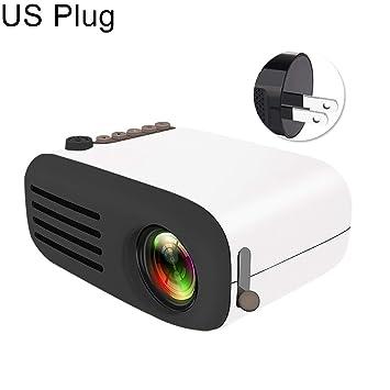 Sguan-wu Proyector YG200 Mini portátil 1080P HD LED Multimedia ...