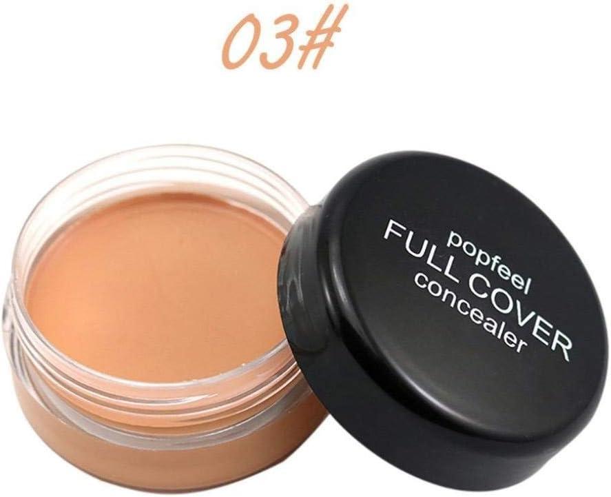 C Popfeel Makeup Concealer Foundation Secret Concealer for Women Fashion Cover Everything Concealers Neutralizing Natural Makeup Cream Concealer Corrector Makeup Foundation