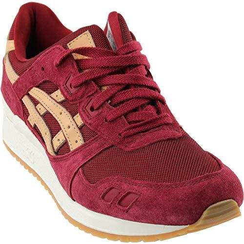 ASICS Mens Gel-Lyte III Athletic & Sneakers Burgundy