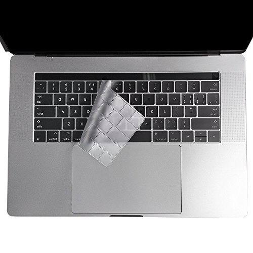 VFENG Premium Ultra Thin Keyboard Skins for MacBook Pro with Touch Bar 13