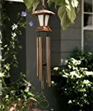 This New Large Wind Chime Solar Powered Light Is a Beautiful LED Lighted Chimes for Your Garden Yard Patio and Landscaping Outdoor Décor