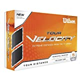 Wilson Tour Velocity Feel Golf Ball (15-Pack), White