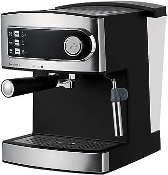 AGWa Máquina de café espresso de 20 bares, capuchino, espuma de leche, 850 W, capacidad de boquilla de vapor 1.6L Control de un toque para espumar leche y preparar bebidas calientes: Amazon.es: