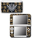 Monster Hunter 4 Ultimate Generations 3 World Video Game Vinyl Decal Skin Sticker Cover for Original Nintendo 3DS XL System