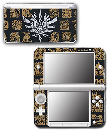 Monster Hunter 4 Ultimate Generations 3 World Video Game Vinyl Decal Skin Sticker Cover for Original Nintendo 3DS XL System (Nintendo 3ds Xl Monster Hunter 4 Ultimate Edition)