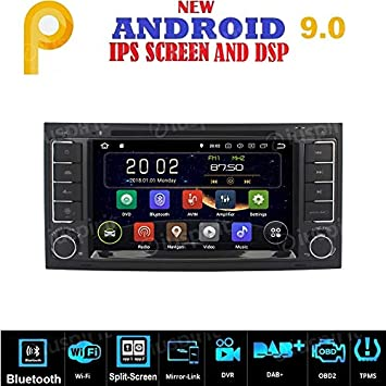 Radio para coche con Android 7.1, GPS, DVD, USB, SD, Wifi, 2 dines ...