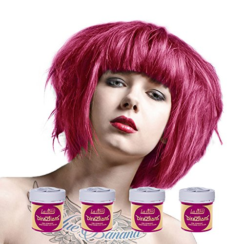 Sunshine Little Costume Uk Miss (La Riche Directions Semi Permanent Carnation Pink Hair Colour Dye x 4 by La)
