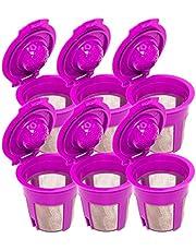 Blendin Refillable Reusable Coffee Filter Pod, Compatible with Keurig 2.0 Coffee Makers K200, K300, K400, K500, K600 Series (6 Pack)