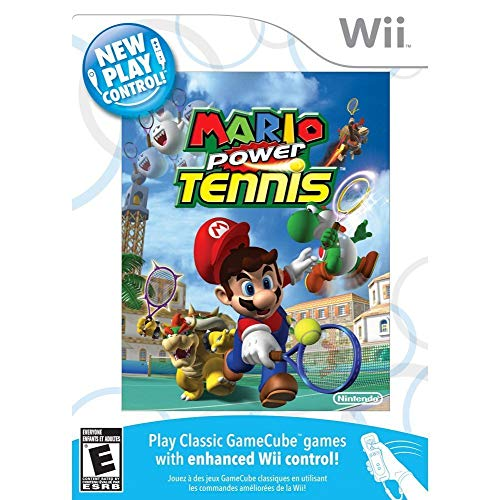 New Play Control! Mario Power Tennis - Nintendo Wii (Renewed)