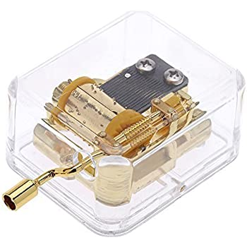Amazon Com 18 Note Wind Up Music Box Musical Movement Plays You