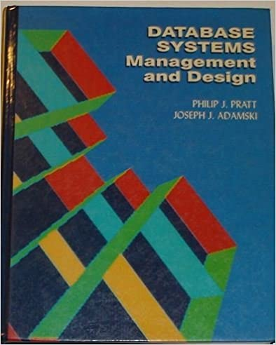 Data Base Systems: Management and Design