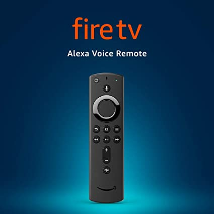 Amazon Com Alexa Voice Remote 2nd Gen With Power And Volume Controls Requires Compatible Fire Tv Device Amazon Devices