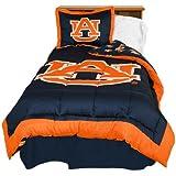 College Covers Auburn Tigers Reversible Comforter Set - Full