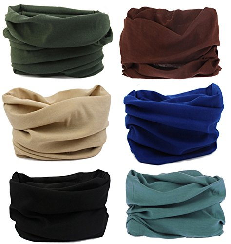 smilersmile-6pcs-assorted-seamless-outdoor-sport-bandanna-headwrap-scarf-wrap-12-in-1-high-elastic-m