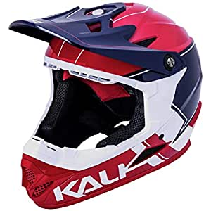 Kali Zoka Switchback - Casco (Talla XL), Color Rojo y Blanco ...