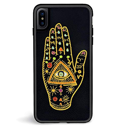 Embroidered Phone Case (Zero Gravity iPhone Xs Max Behold Embroidered Phone Case - 360° Protection, Drop Test Approved - Multicolored)