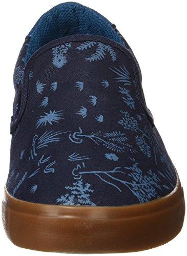 Quiksilver Shorebreak Slip M, Zapatillas para Hombre Azul (Blue /             Blue /             White)