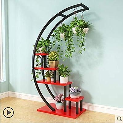 KEWEI Estante 2pcs Flower Storage Rack Holder Garden Rack Stand ...