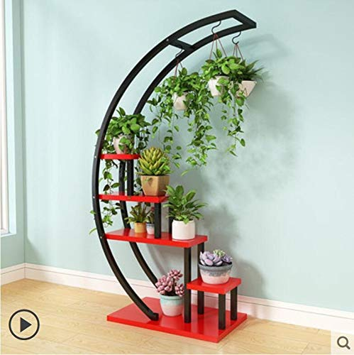 KEWEI Estante 2pcs Flower Storage Rack Holder Garden Rack Stand ...