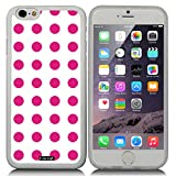 CocoZ® New Apple Iphone 6 s 4.7-inch Case Simple Lovely Polka Dot (Transparent TPU & Polka Dot 3)