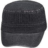 Erkek Castro Şapka Kep Kot Model Siyah Suyutti 8520-14