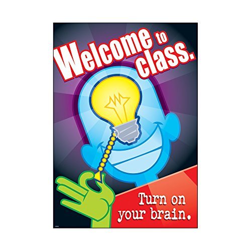 Character Education Poster (ARGUS Welcome To Class Poster (1 Piece), 13.38