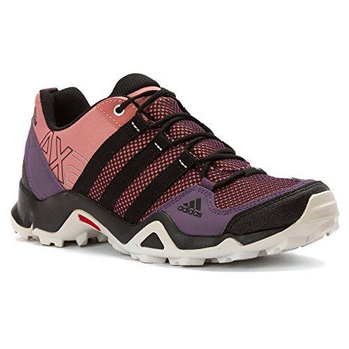 Adidas exterior Ax2 cartón / negro / marrón óxido zapatilla de deporte de 6 B (m) Raw Pink / Black / Ash Purple