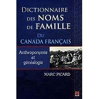 Dictionnaire des noms de famille Canada